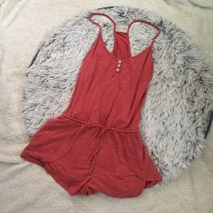 ANTHROPOLOGIE CUTE AND COMFY ROMPER